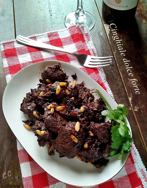 Cinghiale dolce forte