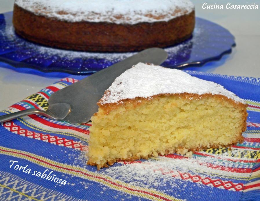 Torta sabbiosa ricetta dolci veneta