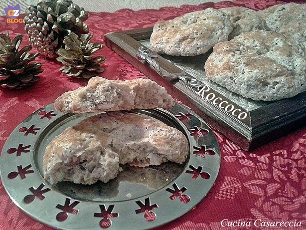 Roccocò ricetta dolci di Natale