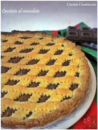 Crostata al cioccolato ricetta dolci