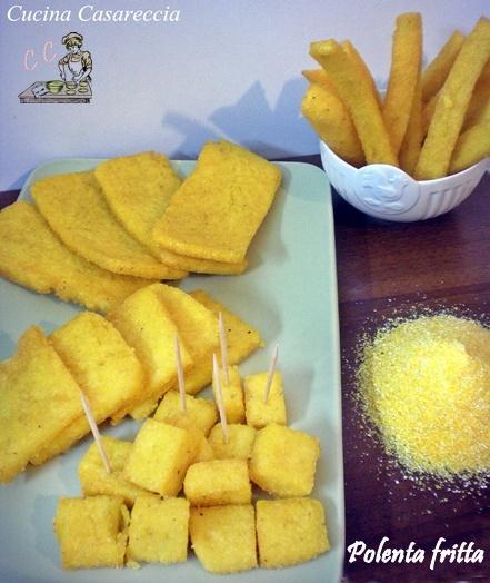 Polenta fritta ricetta antipasti