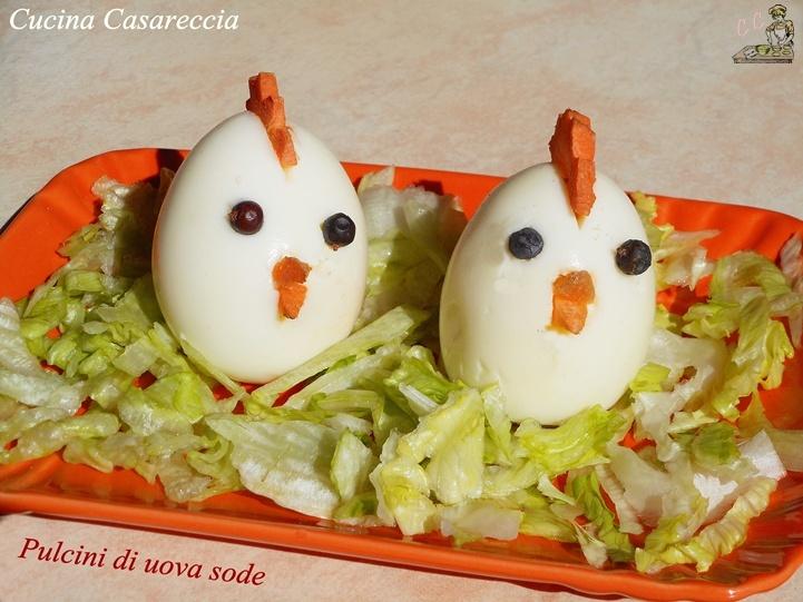 Pulcini di uova sode
