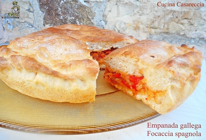 Empanada gallega Focaccia Spagnola
