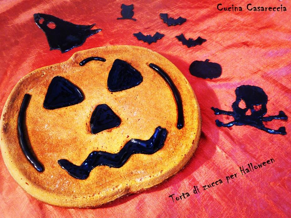 Torta di zucca per Halloween del Blog Cucina Casareccia