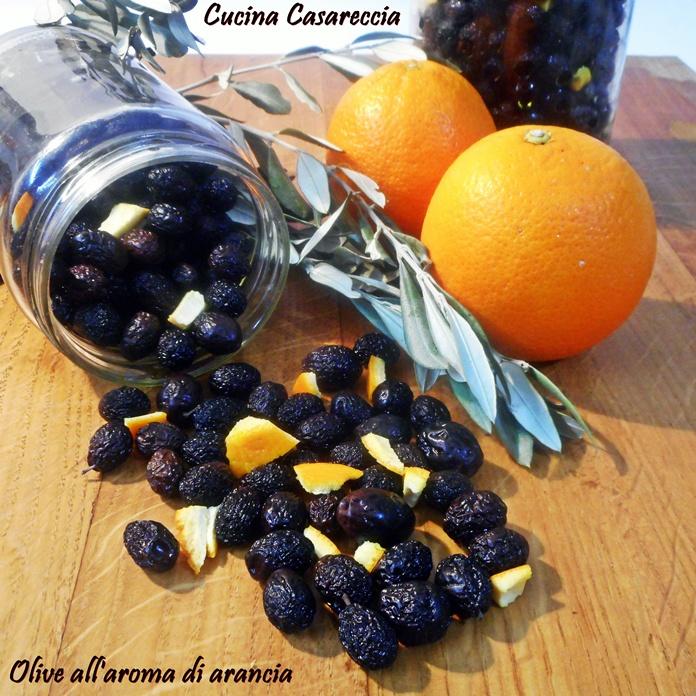 Olive all'aroma di arancia