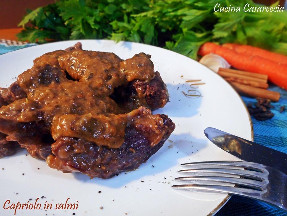 Capriolo In Salmi Del Blog Cucina Casareccia