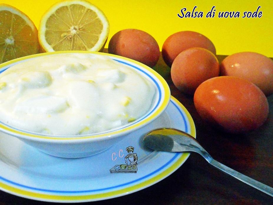 Salsa di uova sode