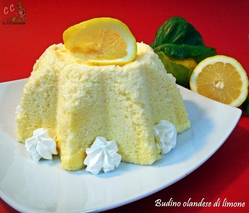 Budino Olandese di limone