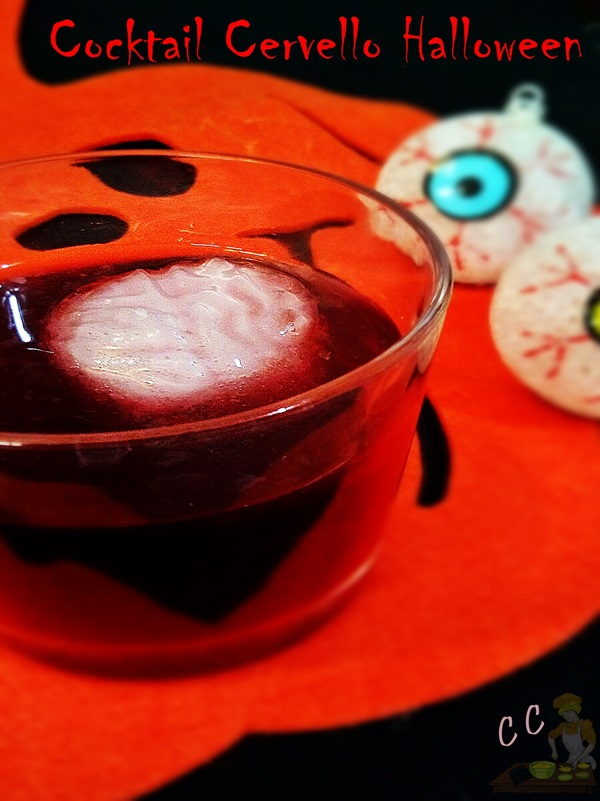 Cocktail cervello Halloween