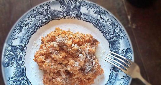 Riso alla sarda con salsiccia e pecorino
