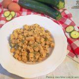 Pasta e zucchine con uova