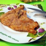 Scaloppine allo zenzero