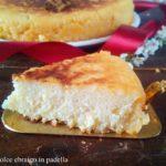 Cassola dolce ebraico preparato in padella