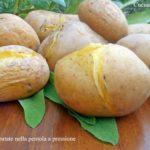 Lessare le patate nella pentola a pressione