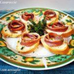 Crostini con acciughe ricetta antipasti